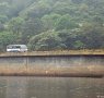 Kumily KSRTC bus crossing Gavi dam