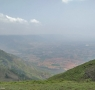 Cumbum valley view from the mountain top