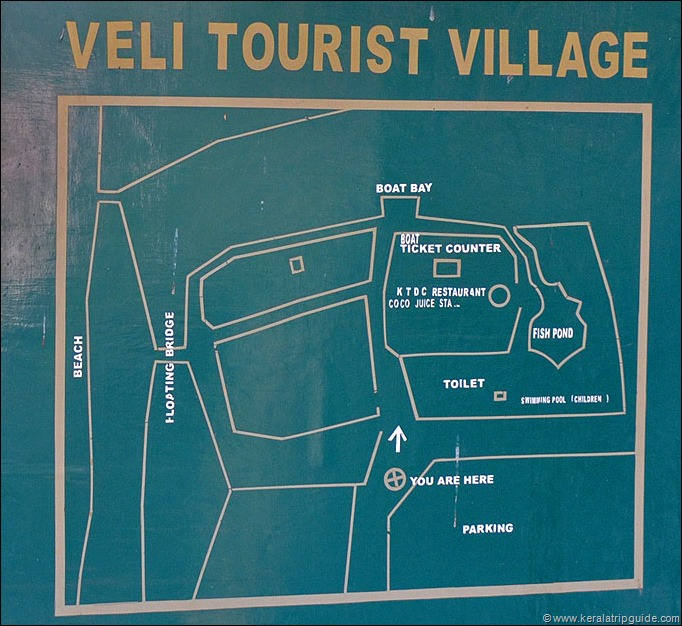 Veli tourist village map