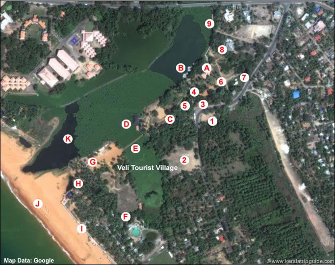 Veli Location Map - Top View