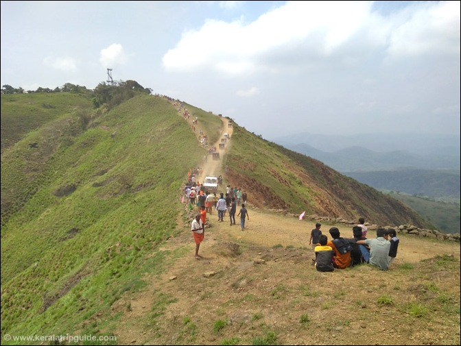 The last climb to Mangala Devi temple