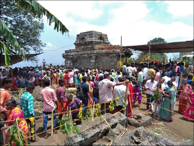Mangala Devi Temple on Chitra Pournami